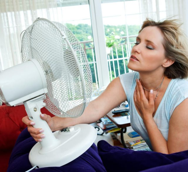menopausal hot flush
